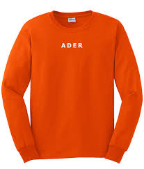 Ader Orange Sweatshirt RF02