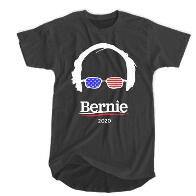 Bernie Sanders 2020 Hair and Glasses Campaign t shirt RF02