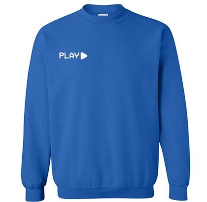 Blue Play Sweatshirt RF02