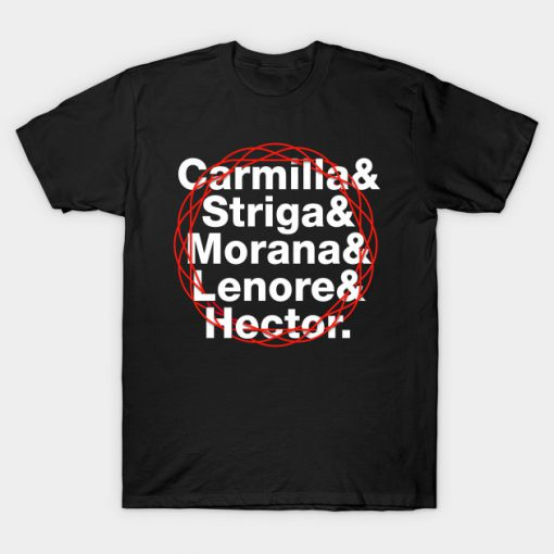 The Vampire Sisters and Hector T-Shirt AI