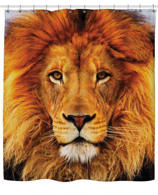 Lion Shower Curtain AI